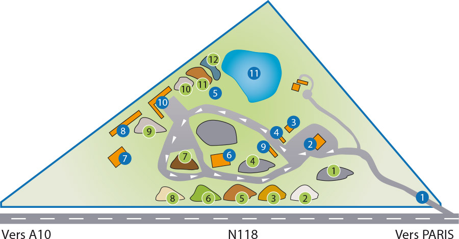Plan du site Sodextra